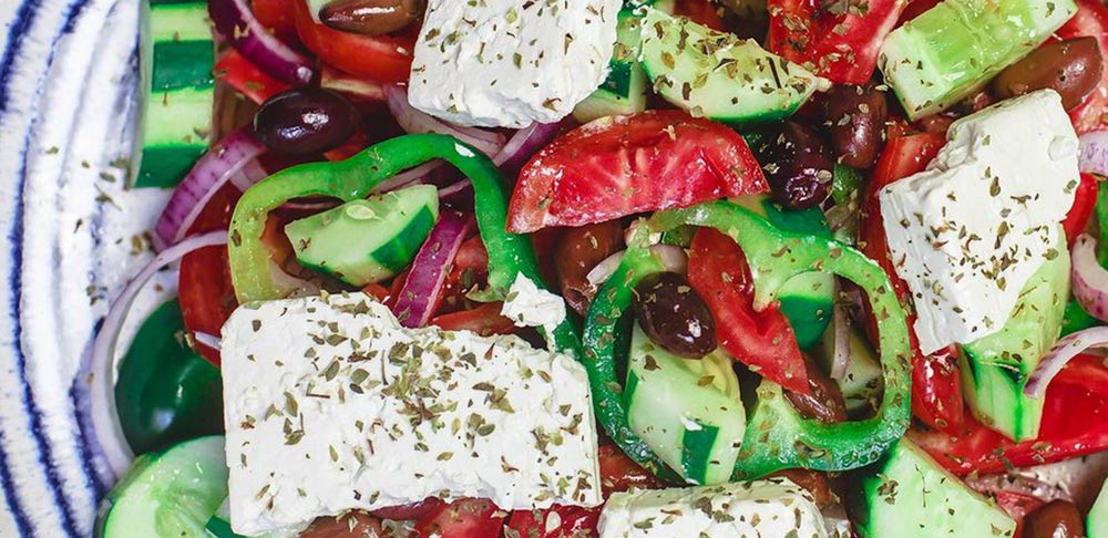 Game Day Greek Salad